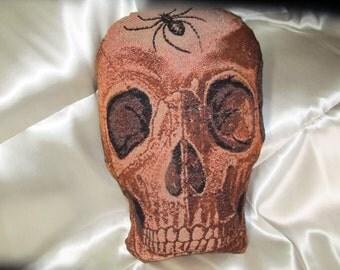 Skull Tapestry Pillow