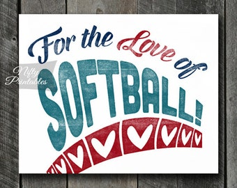 "Shop ""softball gifts"" in Art & Collectibles"