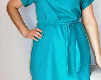 MADE TO ORDER Green dress