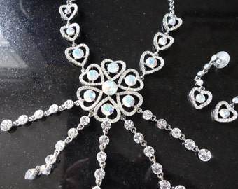 Stunning Butler and Wilson Necklace and Earring set
