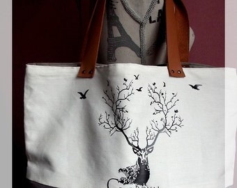 Tote Bag ''Royal stag''
