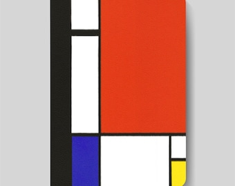 iPad Folio Case, iPad Air Case, iPad Air 2 Case, iPad 1 Case, iPad 2 Case, iPad 3 Case - Composition II in Red, Blue and Yellow  by Mondrian