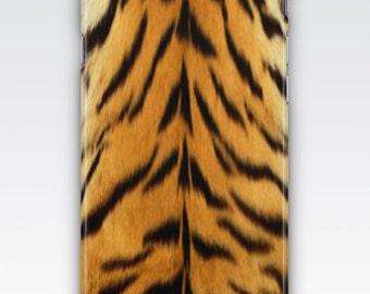 Case for iPhone 8, iPhone 6s,  iPhone 6 Plus,  iPhone 5s,  iPhone SE,  iPhone 5c,  iPhone 7  - Tiger Fur Stripes Design iPhone