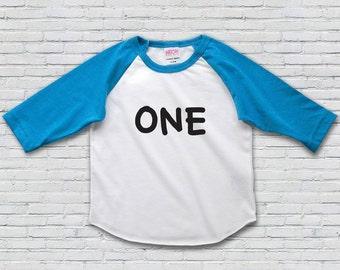 1st Birthday Shirt, First Birthday Shirt, 1st Birthday Girl Oufit, First Birthday Outfit Girl, 1st Birthday Boy Outfit Raglan Tee
