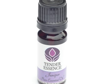 Juniper Essential Oil. Aromatherapy 10ml Bottle.