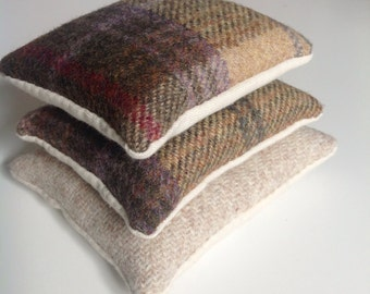 Tweed lavender sachets set of 3