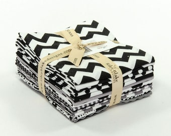 Black Fat Quarter Bundle from Riley Blake