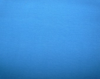 Fabric - cotton jersey fabric - blue