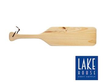 Plain Wood Oar. Bare Wood Paddle. Unfinished Wooden Oar. Oar Sign Plain.