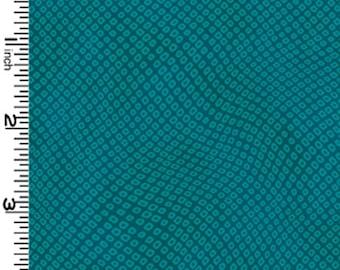 Shibori - Teal by Kona Bay (TONE06-TEAL) Cotton Fabric Yardage