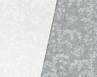 Garden Buzz White on White (2625-1) by RJR Fabrics Cotton Fabric