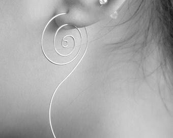 Spiral Pattern Earrings