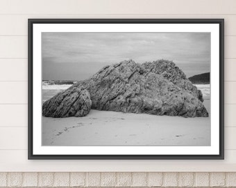 Wall Art, Nature Art, Bermagui, Black and White Photography, Downloadable Art, Printable Art