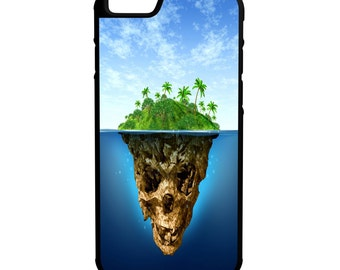 Skull Island iPhone Galaxy Note LG HTC Hybrid Rubber Protective Case