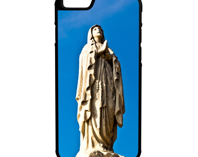 Virgin Mary Statue iPhone Galaxy Note LG HTC Hybrid Rubber Protective Case