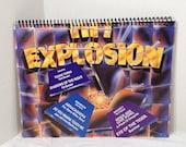 Hit Explosion Handmade Vintage Record Cover Notebook Album Jacket Journal Ephemera || Unique Gift