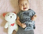 The Snuggle is Real / tshirt/ toddler tshirt/ baby / momlife / birthday gift /infant clothes /new baby gift/newborn /photoshoot outfit /prop
