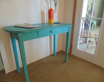 Ocean Blue Simple Desk / Table