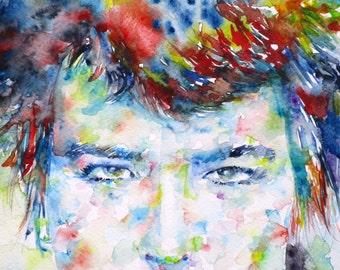 SID VICIOUS - original watercolor portrait - one of a kind!