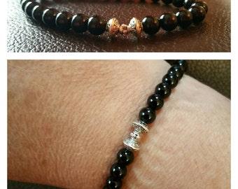 "Bracelet ""Tie Fighter"" Onyx"