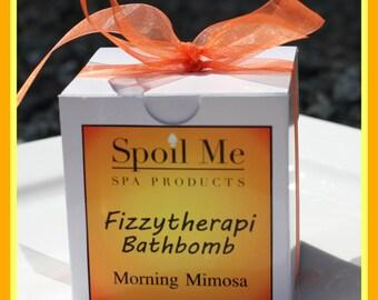 Morning Mimosa Fizzytherapi Bathbomb/Mimosa Bath Bomb/Citrus Bath Bomb/Bath Bomb