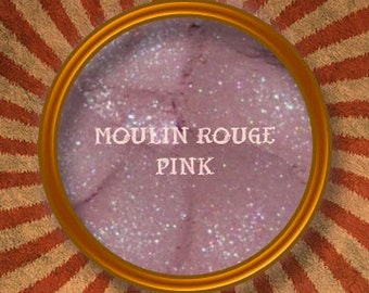 Moulin Rouge Pink Mineral Eye Shadow-Handmade In The USA