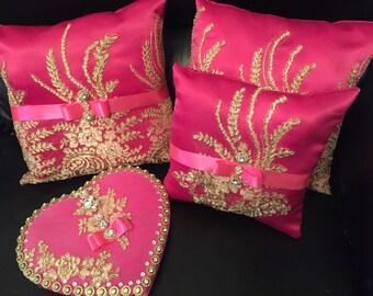 Signing book, pillows set ( 3 pillows)