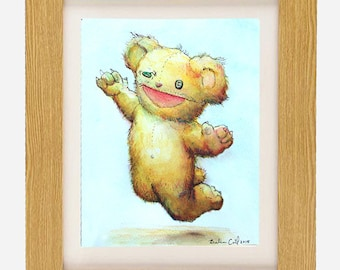 Shreddy Bear limited edition archival fine art print