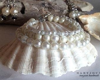 Pearl bracelets