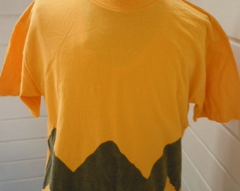 Size XL (48)  --Charlie Brown Shirt (Single Sided)