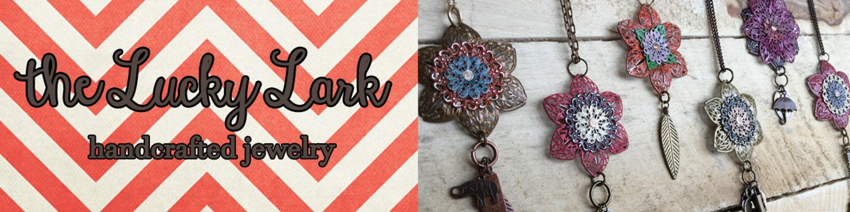 handcrafted jewelry made with love in michigan by theluckylark