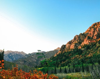Utah Mountain Print