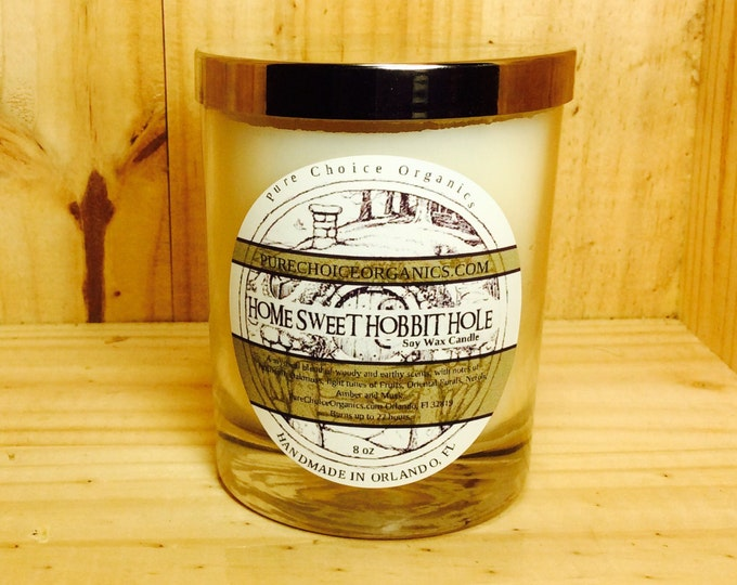 Featured listing image: Home Sweet Hobbit Hole Soy Wax Candles