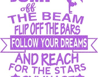 Follow Your Dreams Iron On Decal