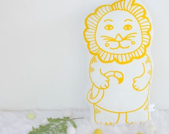 Organic Leki Lion Soft Cuddly Toy
