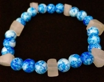 Earth and Moon Stretch Bracelet