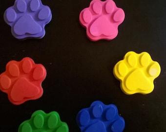 10 Kitty Paw Crayon, Animal Paw Crayon