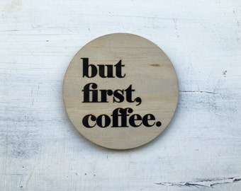 But First, Coffee Plaque