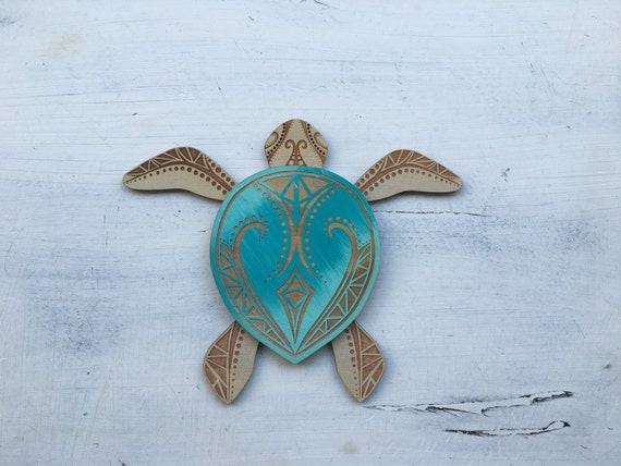 perfect wooden turtle wall art 14