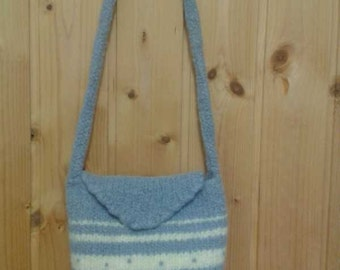 Felted shoulder bag