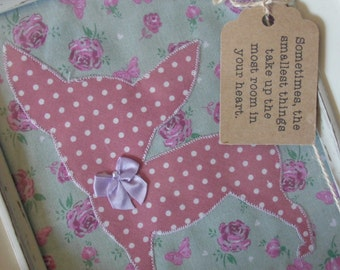Chihuahua Floral and Polka Dot Quote Frame