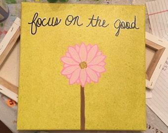 12x12 Focus on the Good