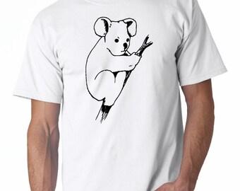 Koala Branch T-Shirt - ani (64)