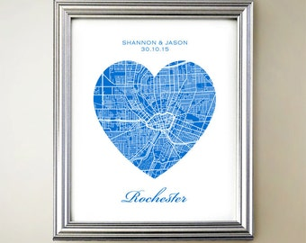 Rochester Heart Map