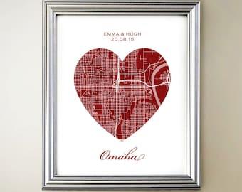 Omaha Heart Map