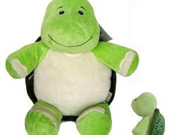 Personalized Stuffed Turtle