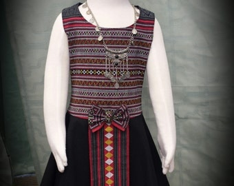 Beautiful Vintage Hmong /American little girl dresses