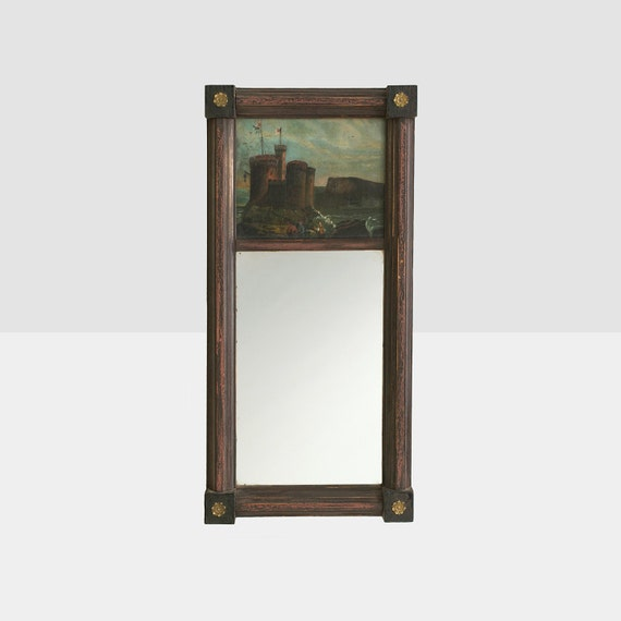Antico specchio federale trumeau stile specchio di for Specchio stile antico