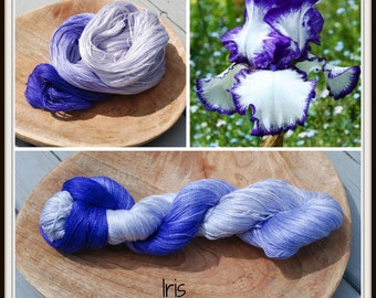 Iris 100% Silk  Lace Weight Yarn