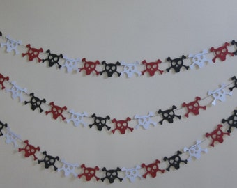 Pirate Garland/ Pirate Birthday Decoration